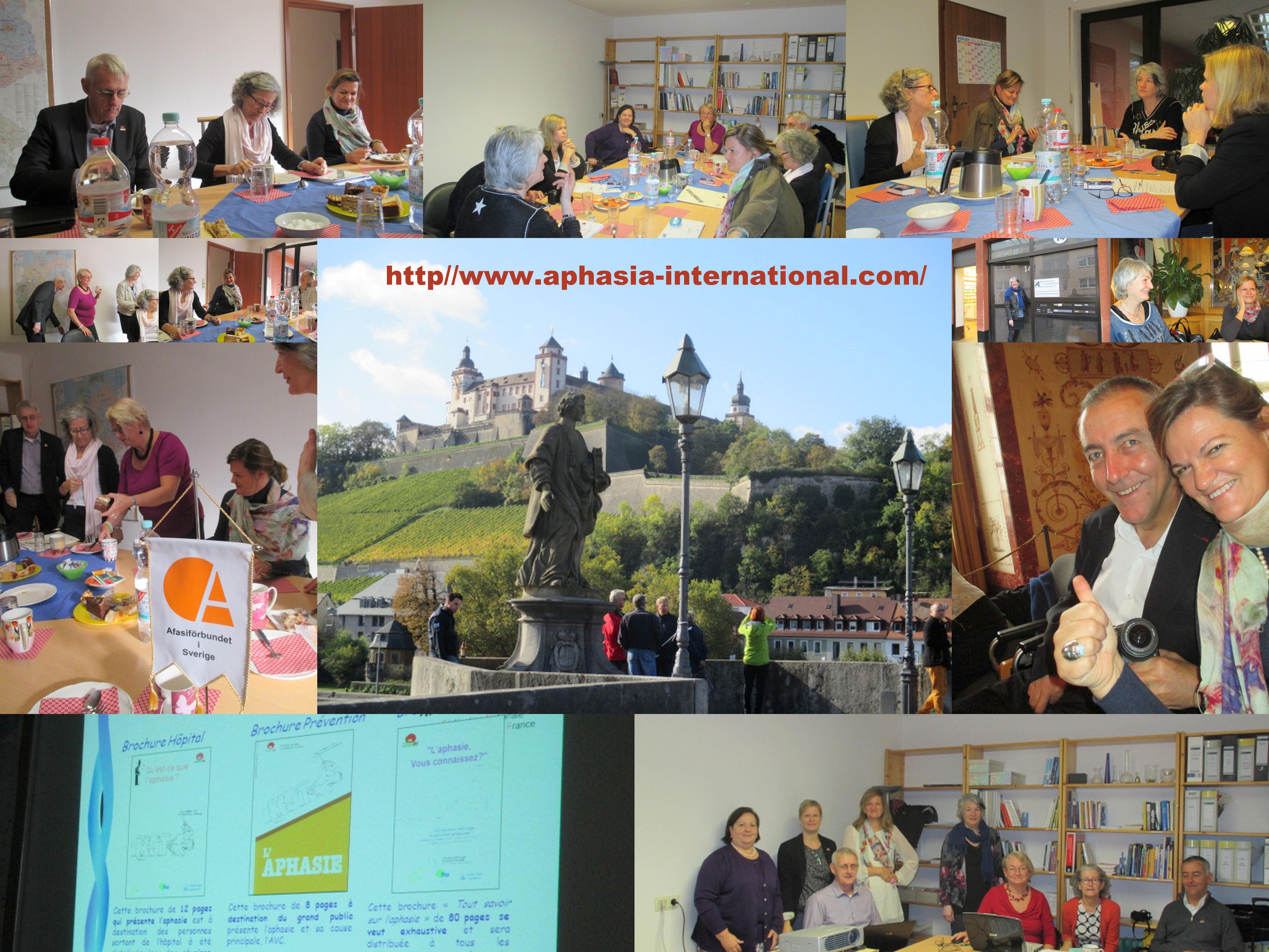 AIA – Nemzetközi Afázia Szövetség közgyűlés – Würzburg, Németország