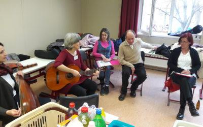 Afázia Egyesület Hangadó Együttese fellépése Budaörsön