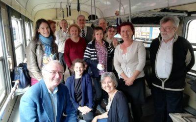 Az Afázia Egyesület Hangadó Énekegyüttese – első közös utazásunk Pécsre