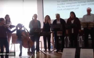 Közös éneklés – Fekete Zsófia vezetésével VIDEÓ