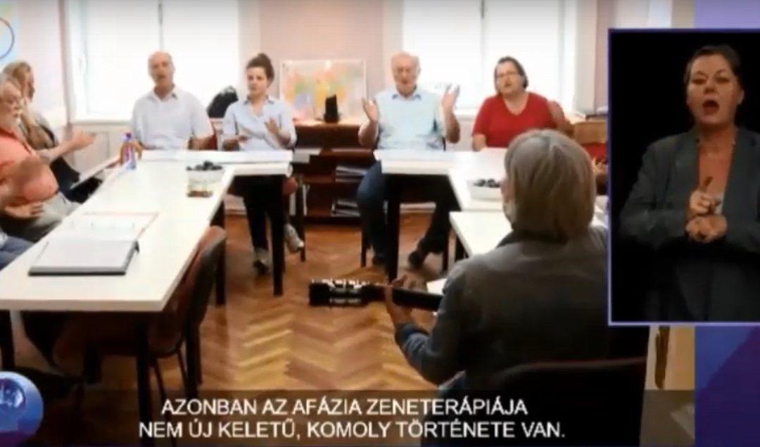 Európai Zeneterápia Napja – videó